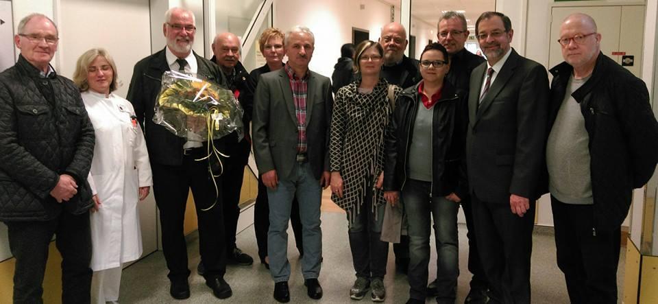 SPD besucht die neue Geriatrie Station –Unterstützung der Stadtklinik