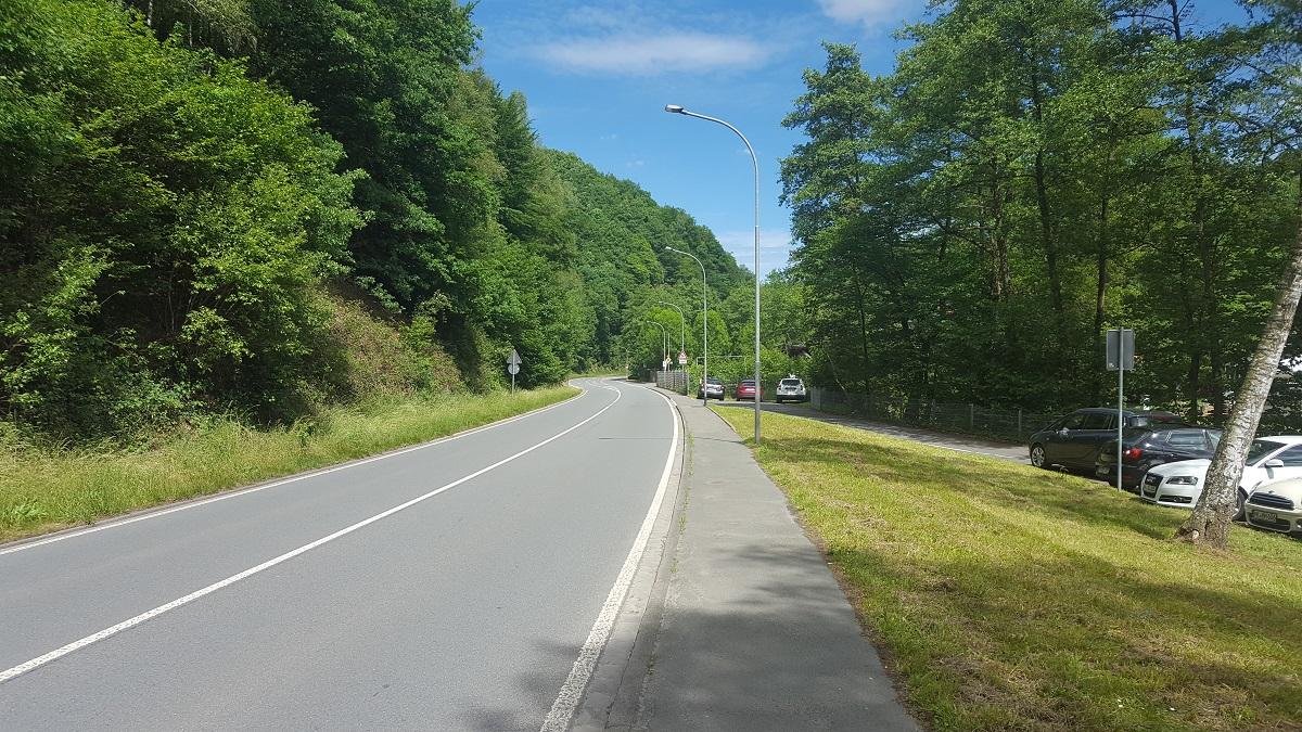 SPD-Fraktion fordert Geschwindigkeitsreduzierung  auf der B 229 Altenmühle
