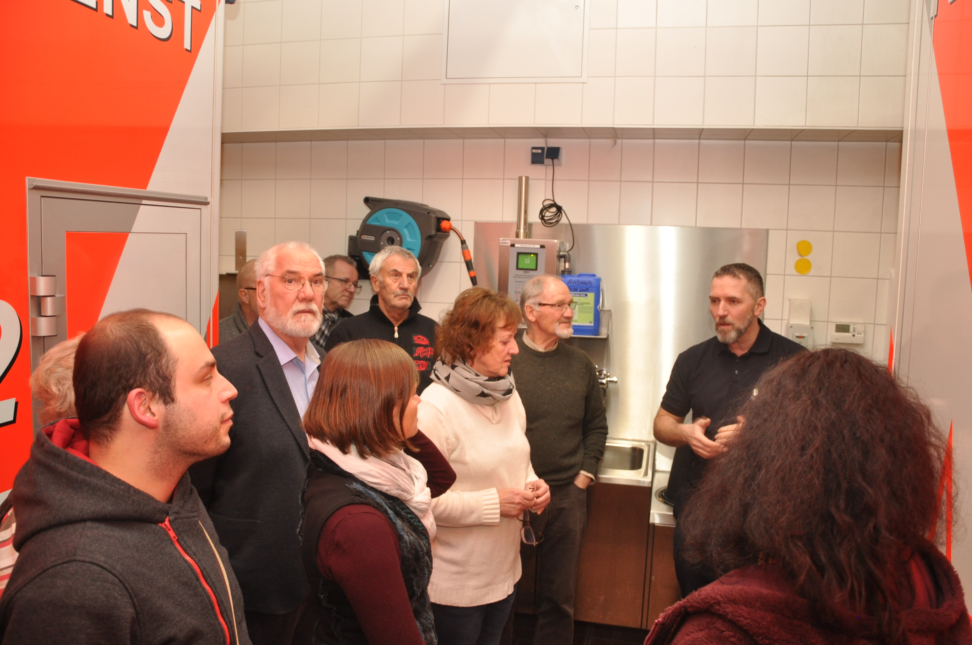 SPD besucht Werdohler Rettungswache